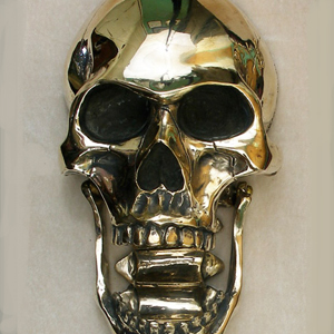 Skull Door Knocker & Omega Artworks Catalog of Ideas: Bronze Door Knockers pezcame.com