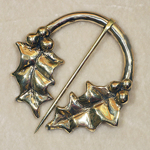 Holly Brooch