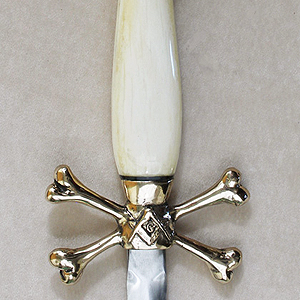 Masonic Skull Knife