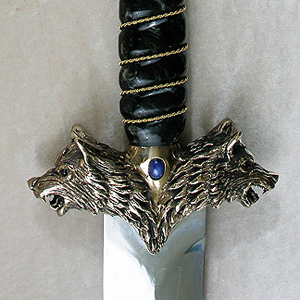Snarling Wolf Sword