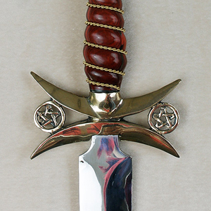 Solomon Knife Open Pentacle