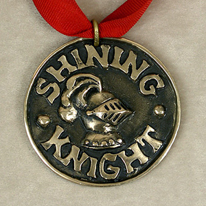 Shining Knight medallion