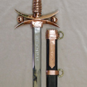 Shown with matching custom sheath
