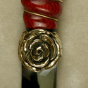 Tudor Rose Knife